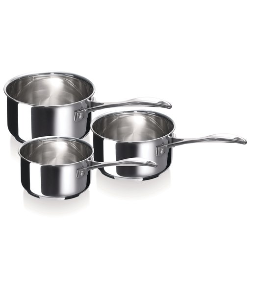 Chef 3pcs saucepan set