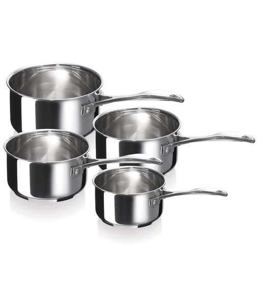 Chef 4pcs saucepan set