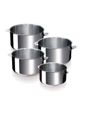 Evolution 4 pcs saucepan set