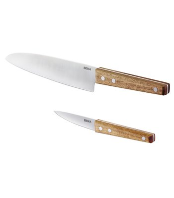 Nomad chef knife and paring knife