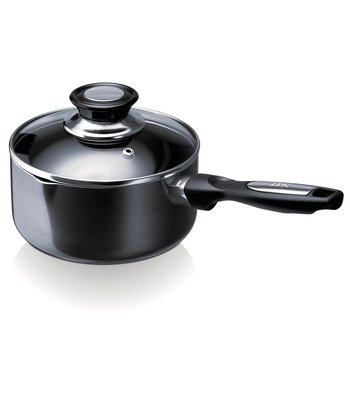 Pro Induc non-stick saucepan with lid