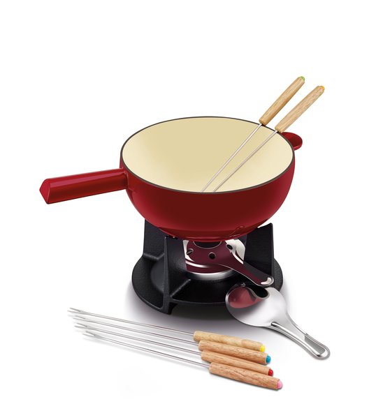 Belledone cheese fondue set